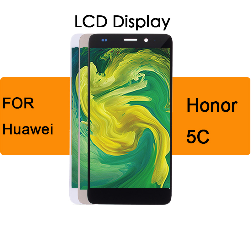 Lcd <font><b>Display</b></font> Touch Screen Digitizer Assembly With Frame For <font><b>Huawei</b></font> <font><b>Honor</b></font> 5C/<font><b>7</b></font> <font><b>Lite</b></font> / 7Lite NEM-L21 NEM-L51 LCD For <font><b>Huawei</b></font> GT3 image