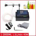 24 Вт 1-2000 мл CNC полностью Самостоятельная разливочная машина для жидких напитков цифровой контроль разливочная машина для воды, масла, парфю...