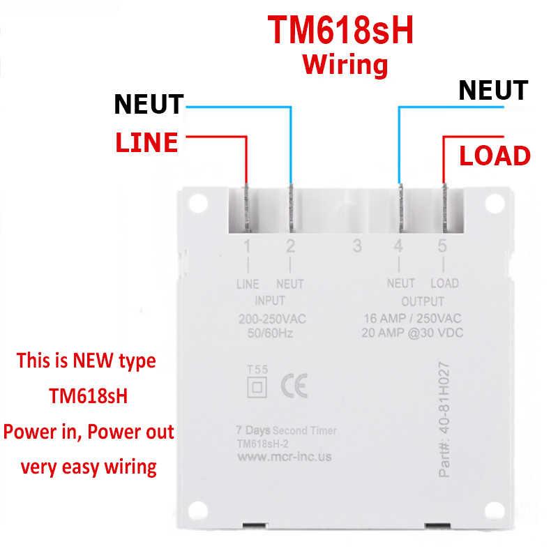 DC 5 V électronique LCD numérique 7 jours hebdomadaire Programmable Module minuterie LED interrupteur de temps d'éclairage avec 1 deuxième intervalle