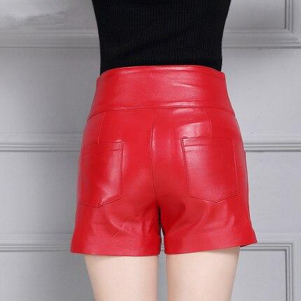 Cuero Pantalones 2019 Alta K44 Cintura Las De Slim Mujeres Invierno Otoño E zzv1qr