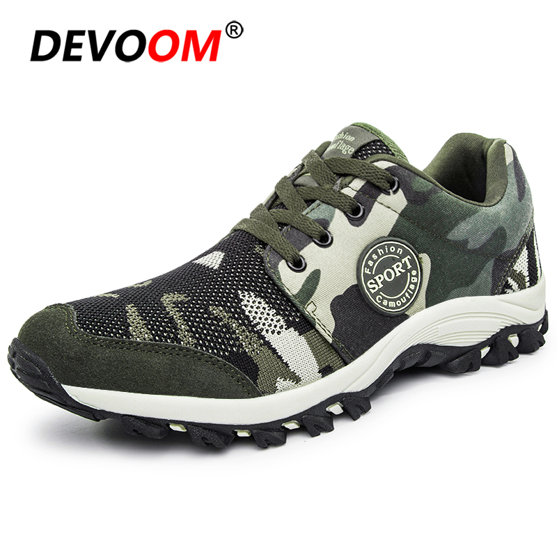 [Disc 40%] Hiking Shoes Men & Women Outdoor Anti-Slip Durable Camouflage Trekking Shoes High Quality Sneakers Men Mountain Climbing Shoes
