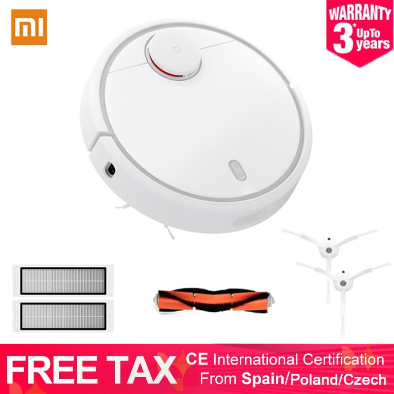 Coupons Global Version Xiaomi MI Robot Vacuum Cleaner MI Robotic Smart Planned Type APP Control