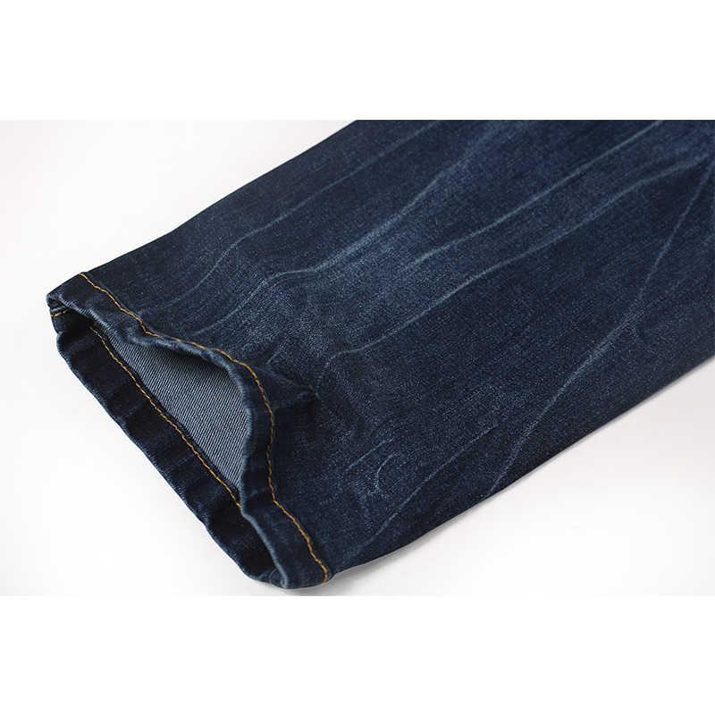 Enjeolon Брендовые мужские джинсы длинные штаны мужские джинсы Штаны хлопок Мужские джинсы Штаны Мужчины джинсовые повсе