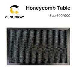Cloudray Waben Arbeitstisch 600*900mm Anpassbare Größe Bord Plattform Laser Teile für CO2 Laser Stecher Schneiden Maschine