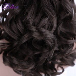 """Image 5 - Blice Synthetic Curly Ponytail 20"""" 22"""" Ponytail Hair Extensions Long Hairpiece With Two Plastic Combs Drawstring Style"""