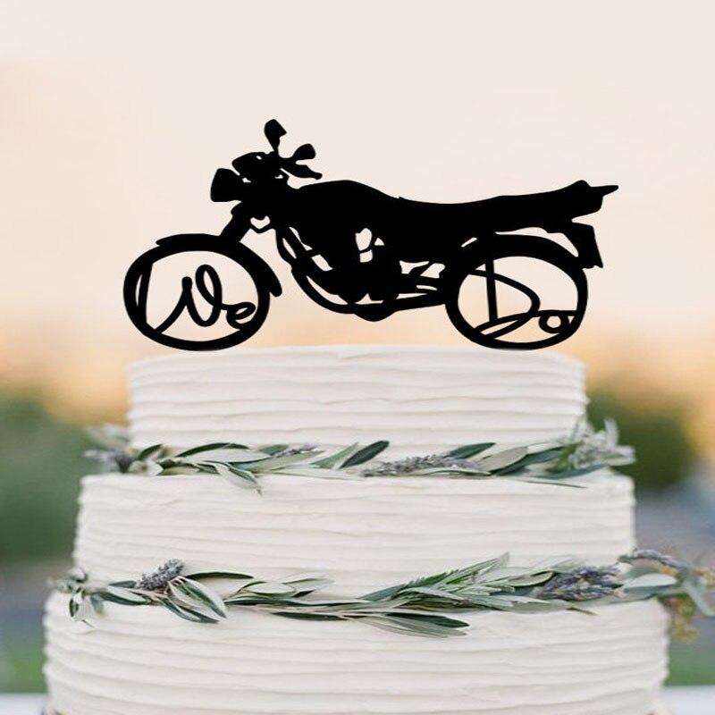 Wedding Cake Topper Harley Davidson Motorcycle