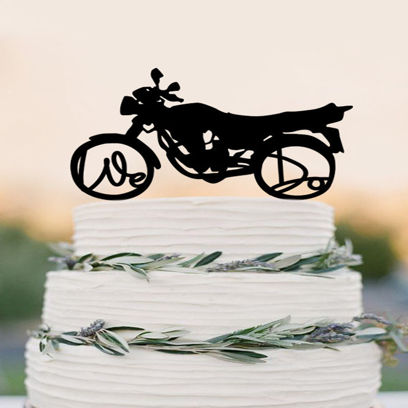 Online Get Cheap Motorcycle Cake Toppers for Wedding Cakes