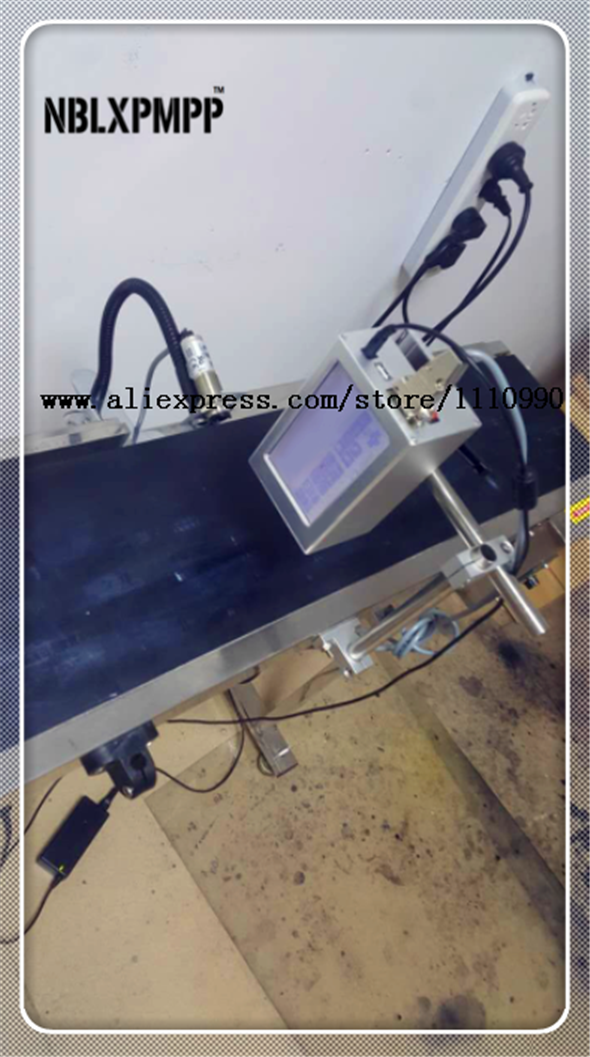 LUOXIN Gruppo NBLXPMPP Fabbrica Più Basso Prezzo di Alta Qualità Automatica Soluzione di Stampa A Getto D'inchiostro Della Stampante Codifica Data Macchina Coder