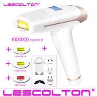 100% Original Lescolton 3in1 700000 pulsed IPL Laser Hair Removal Device Permanent Hair Removal IPL laser Epilator Armpit