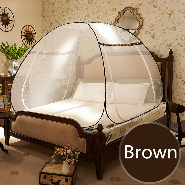 New Brand Folding Mosquito Nets for Sale,High Quality Double Bed Mosquito Net Lace,Large Size Mongolian Yurt Mosquito Netting