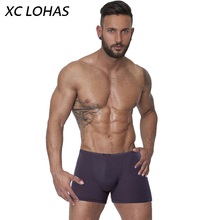 f111eddeb28e3 2016 High Quality Soft Men Underwear Breathable Boxer Man Comfortable Solid  Underpants Cueca Boxers Homme Modal