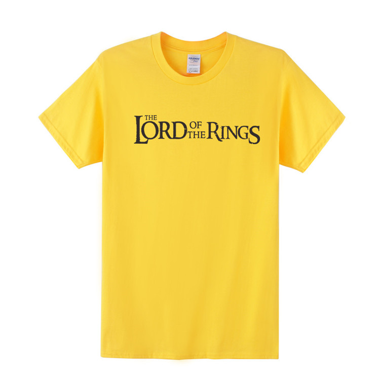 Lord of the Rings Cotton Men T-Shirt