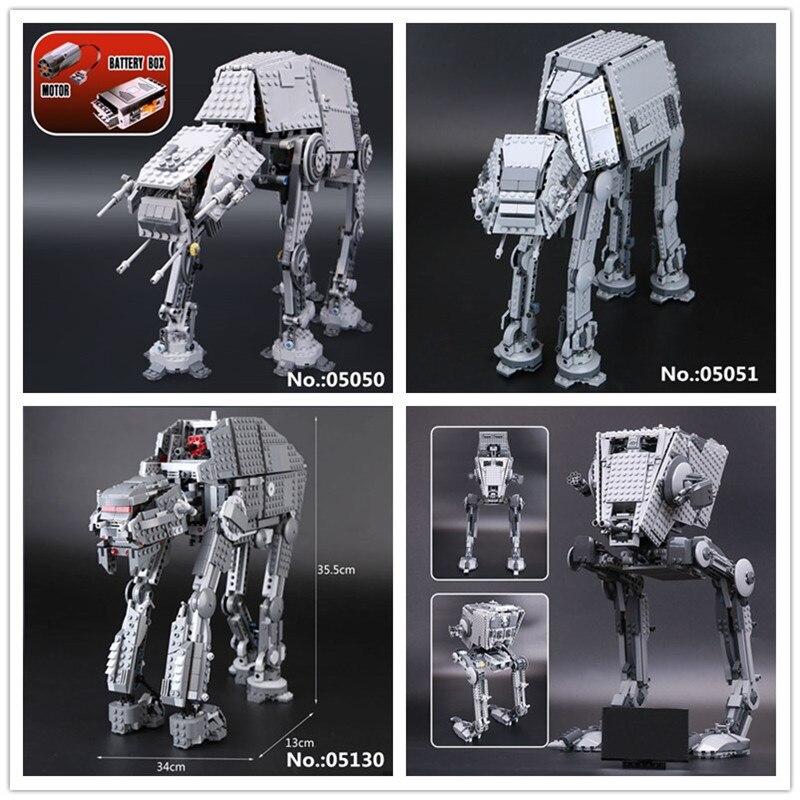 LEPIN Modell 05050 05051 05052 05130 Die Erste auftrag vergriffen Roboter ZU Baustein Ziegel Weihnachten Spielzeug 75054 10178 75189