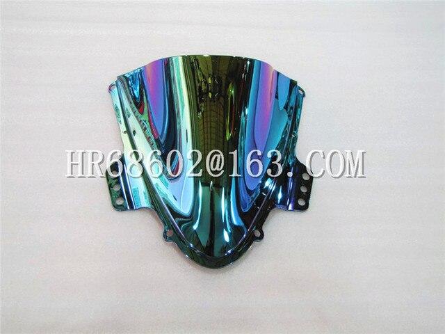Freeshipping For Suzuki GSXR 1000 R  K5 2005 2006 gsxr 1000 r k5 05 06 Windshield WindScreen Double Bubble