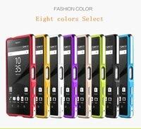 High Quality Ultra Thin Slim Aluminum Metal Bumper Case For Sony Xperia Z5 Compact Z5 Mini