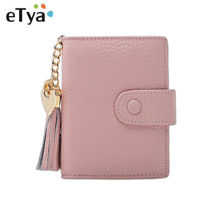 New Cute Pink Small Wallet for Women Lady Mini Clutch Coin Purse Card Holder Pocket Girl Short Wallets Female tassel Purse flowers butterflies pattern waterproof shower curtain