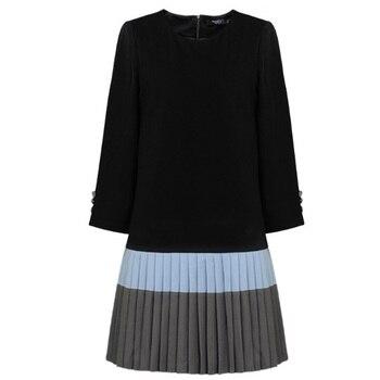 985711354 912 # moda Otoño Invierno de maternidad, maternidad camisetas falda  Patchwork una línea de ropa ...
