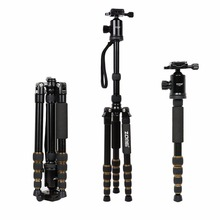 Zomei Z699 Professional Photographic Travel Compact Aluminum Magnesium alloy Tripod Monopod Ball Head for Digital DSLR Camera