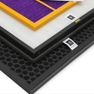 Image 3 - Filtre de purificateur dair pour Philips, ac4148, ac4141, ac4143, ac4144, humidificateur, 4 pièces, AC4084, AC4085, AC4086