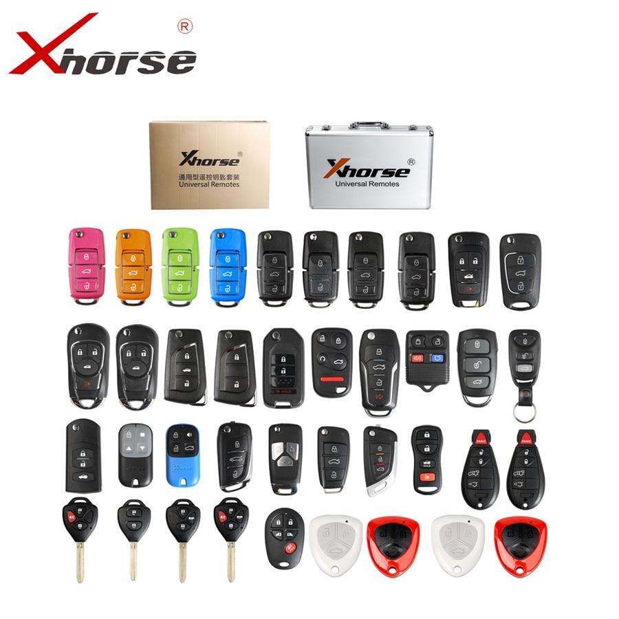 XHORSE Ferrari Type Red Universal Remote Key Fob 3 Btns for VVDI Key Tool VVDI2