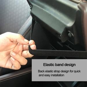 Image 4 - Araba kol dayama minderi PU deri araba kol dayama evrensel merkezi konsol oto koltuk kol dayama kutusu depolama siyah Mat koruma