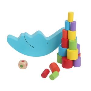 Image 3 - Ruizhi ילדי ירח איזון מסגרת צבעוני עץ מונטסורי הוראת איידס תינוק חינוכיים אבני בניין ילדי צעצועי RZ1078
