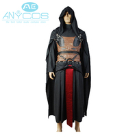 Star Wars Darth Revan Costume Cloack Movie Cosplay Costume Holloween Pary Free Shipping