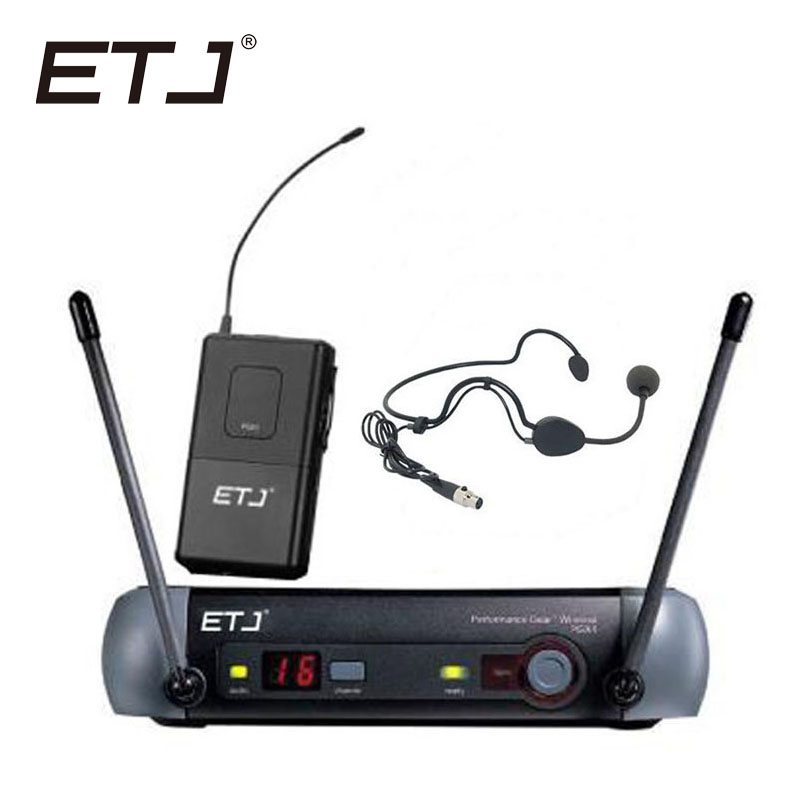 Free shipping Top quality For ETJ PGX24 SM 58 BETA 58 58A type Professional Wireless Microphone system in Microphones from Consumer Electronics