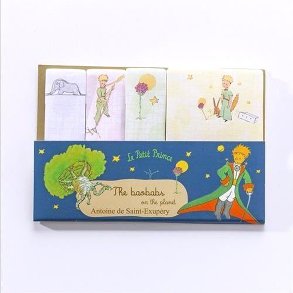 1X Creative Little Prince Memo Pad Weekly Plan Sticky Notes Stationery School Supplies Planner Paper Stickers Notepads