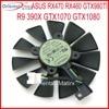 Free Shipping EVERFLOW T129215SU 12V 0 5A 87mm For ASUS STRIX RX470 RX460 GTX980TI R9 390X