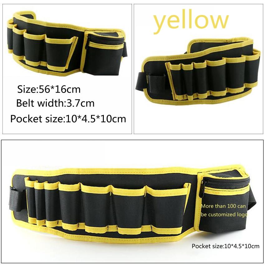 Elettricista multicolore Cintura per attrezzi da riparazione Borsa - Portautensili - Fotografia 3