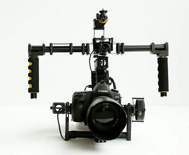 HY-680 3-Axis Handheld SLR Brushless Gimbal Stabilization for 5D3 Stabilizer Damping Device цена
