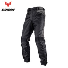 ФОТО duhan motorcycle pants men moto pants motocross winter keep warm moto racing outdoor motobike leisure pants two knee protector