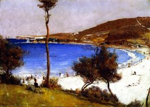 Unframed Canvas Prints - Holiday Sketch At Coogee - By Tom Roberts