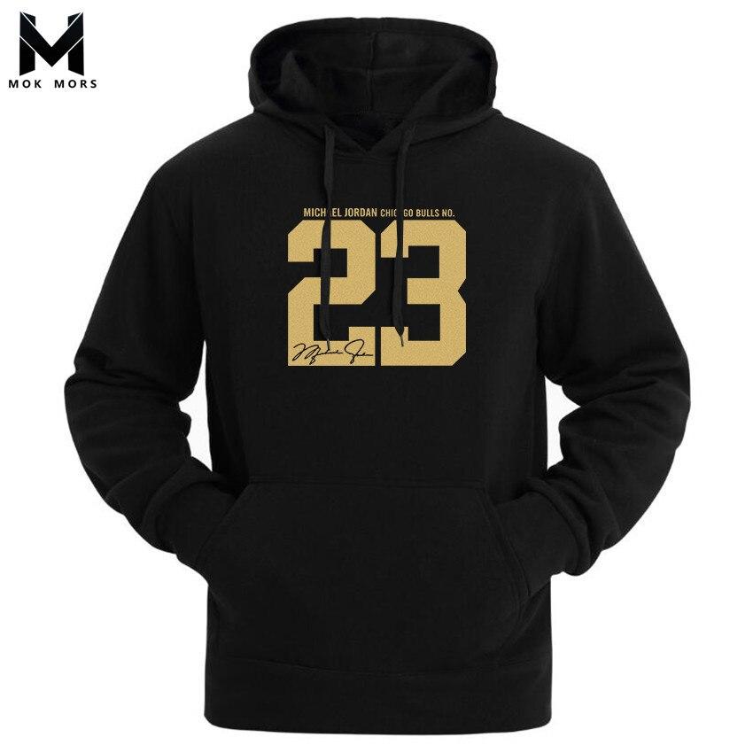 Men Hoodies Sportswear Sweatshirts 23-Printed Cotton High-Street Fashion Wild Casual