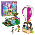Bela 10546 Friends Heartlake Hot Air Balloon building Blocks Bricks Toys Girl Game Toys for children Gift Decool Lepin 41097