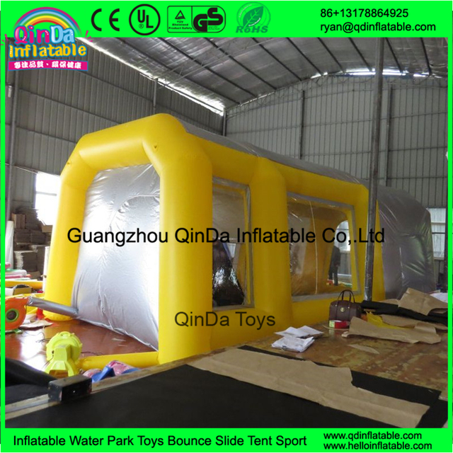 Inflatable spray booth inflatable car paint booth tent outdoor inflate car spray booth for sale