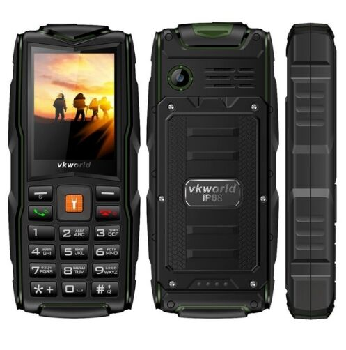 original VKworld stone V3 IP67 waterproof Mobile phone 3000mAh battery Dual SIM mp3 FM shockproof Russian keyboard cell phones