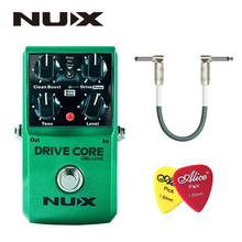 купить NUX Drive Core Deluxe Overdrive Classical Electronic Pedal Guitar Effect Pedal Mixture of Boost Overdrive Sound True Bypass по цене 4639.95 рублей