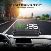 HUD GPS T900 Auto Head Up Display Windschutzscheibe Geschwindigkeit Projektor OBD C500 Digital Tacho Auf Board Computer Kraftstoff Laufleistung spannung