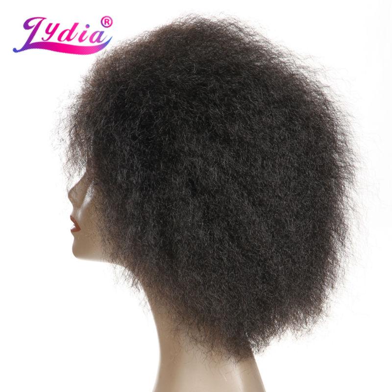 Lydia Kurze Synthetische Perücken Keine Lace Front Perücke - Synthetisches Haar - Foto 5