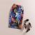 Mujeres de la manera 2016 Nueva Oficina de Impresión Resorte de La Falda del Verano de La Rodilla-Longitud Lápiz Volver Dividir Faldas Saia Faldas de Alta Calidad Midi Femme
