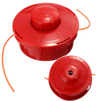 Universal Nylone Line Bump Cutting Trimmer Head For Brushcutters Strimmers Replacement With 2 4mm Cut Red