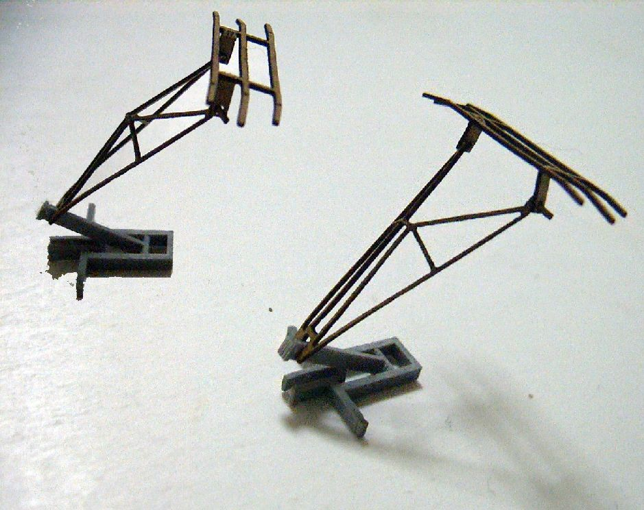 1:87 Ho Scale Model Lifting Bow Train Model HO-21