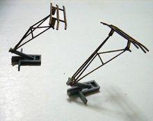 1:87 Ho scale model Lifting bow train HO-21