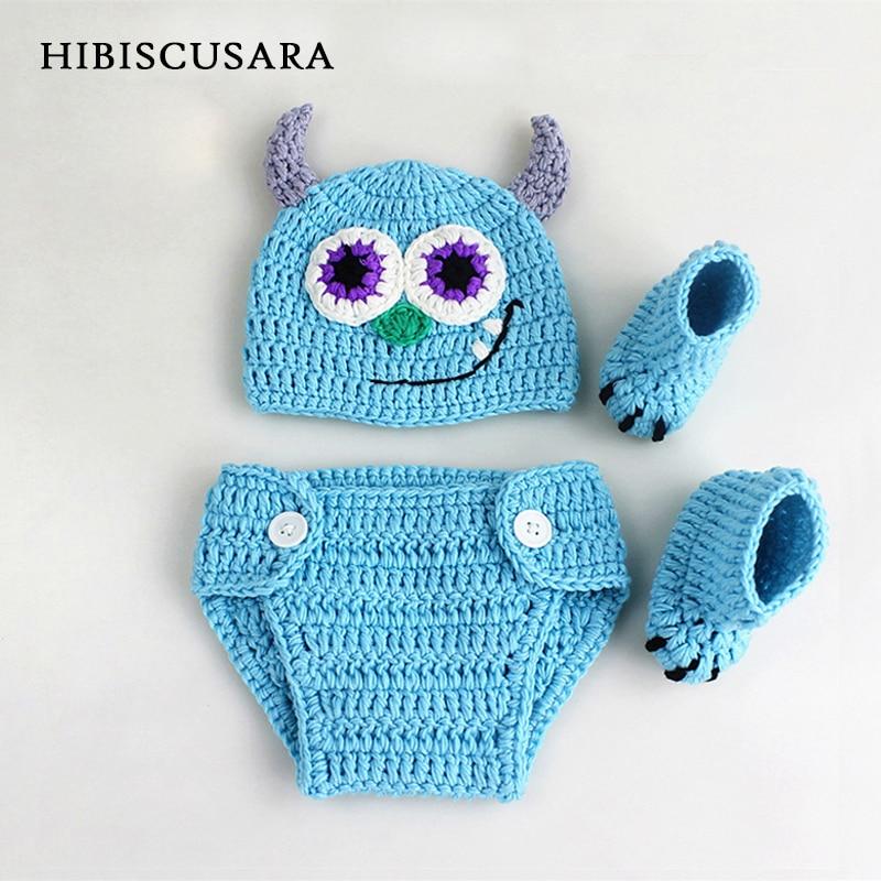 Новое поступление детский фон для фотографирования новорожденных с изображением костюм; комплект одежды с героями мультфильмов, дьявол Bebe ...