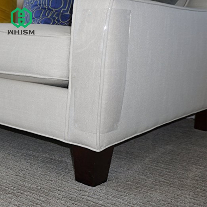 WHISM Anti Scratch Post Pads Furniture Couch Corner Protectors Plastic Cat Scratching Guards Transparent Sofa Protective Film
