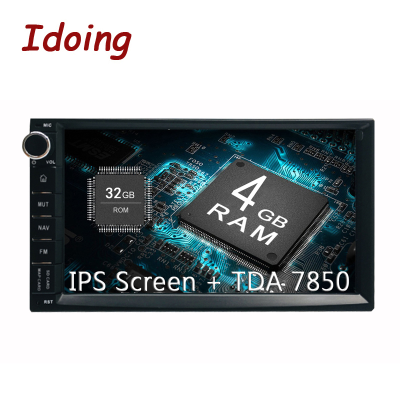 Idoing 7 PX5 4GB 32G 8Core Universal 2Din Car Android8 0 Radio Vedio Player IPS screen