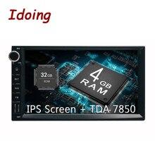 """Idoing 7 """"PX5 4 GB + 32G 8 Core Universale 2Din Auto Android8.0 Radio Lettore Vedio schermo IPS GPS di Navigazione Multimediale Bluetooth NODVD"""
