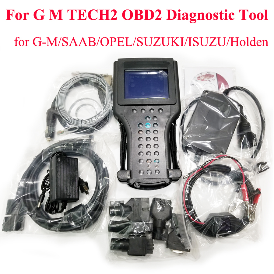 Tech2 strumento di diagnostica per G-M/SAAB/OPEL/SUZUKI/ISUZU/Holden tech 2 scanner per g -m Auto diagnostica scanner tech2 opel strumento di scansione